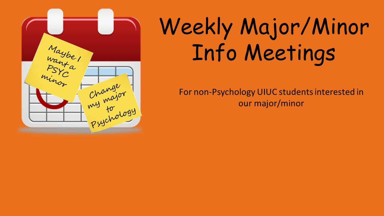 Uiuc Calendar.Undergraduate Program Psychology At Illinois