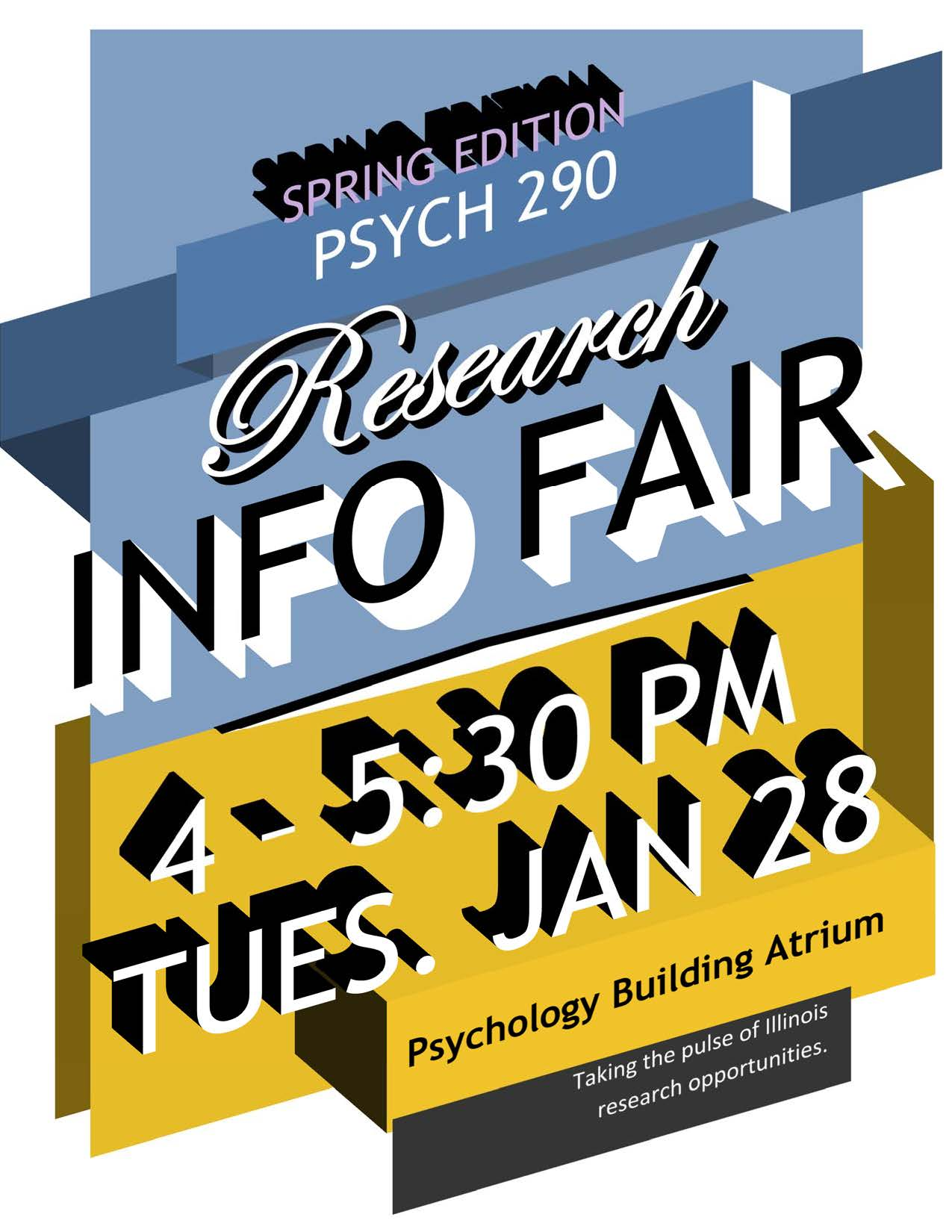 Spring 2020 PSYC 290 Research Fair