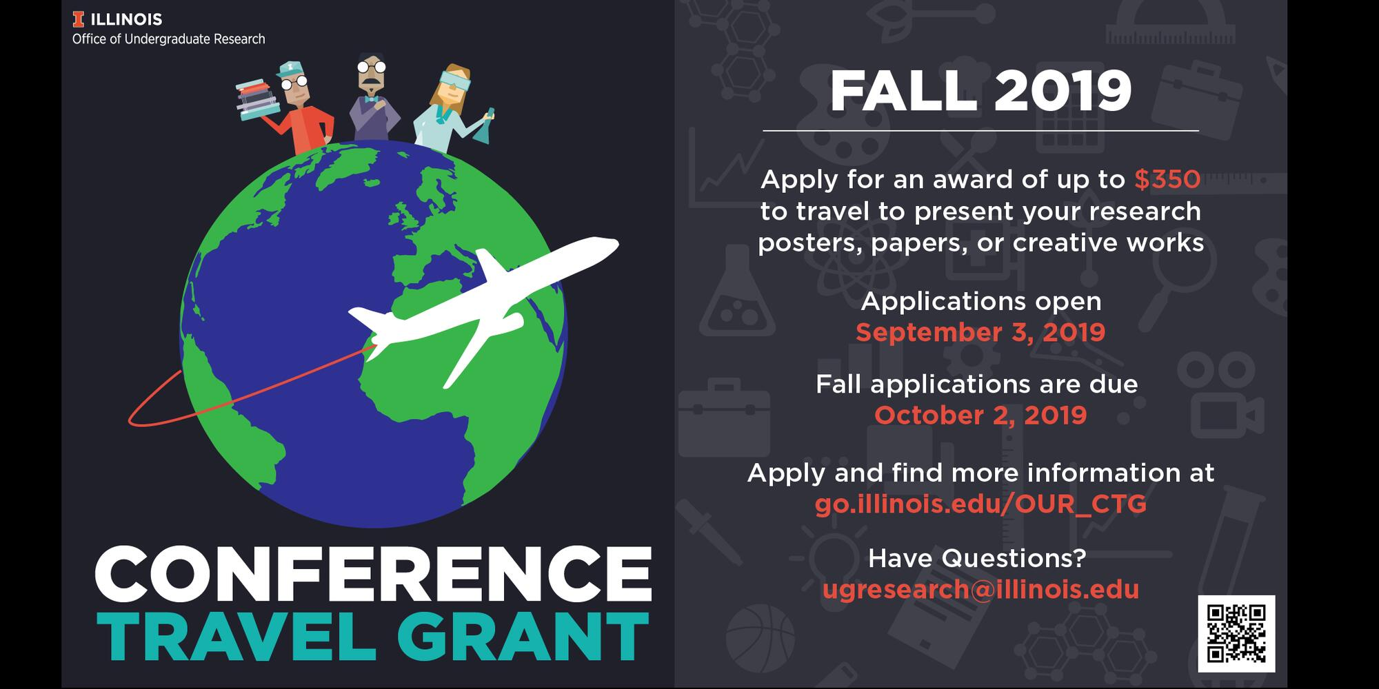 Undergraduate Conference Travel Grants