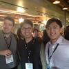 I/O Reunion: L-R: Jonathan Cottrell, Jun-Yeob Kim, Hoon Lee